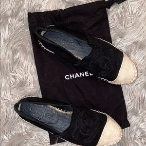Completely authentic Chanel espadrilles